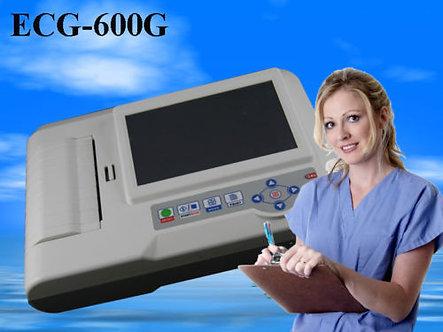 Digital 3/6 Channel ECG/EKG Machine Electrocardiograph,Free PC software, ECG600G
