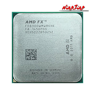 AMD FX-8300 FX 8300 FX8300 3.3 GHz Eight-Core 8M Processor Socket AM3+ CPU 95W