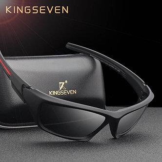 KINGSEVEN Fashion Polarized Sunglasses Men Luxury Brand Designer Vintage Driving