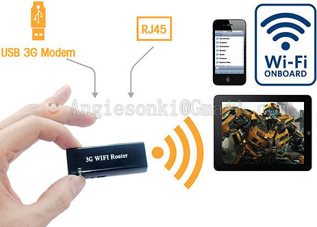 AP Wifi Router RJ45 150Mbps 802b/G/N Mini 3G Wireless Portable Wifi Router