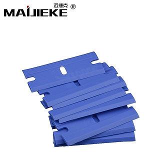 10PCS MAIJIEKE Bew Blue Plastic Razor Blade for Phone LCD Screen Glue