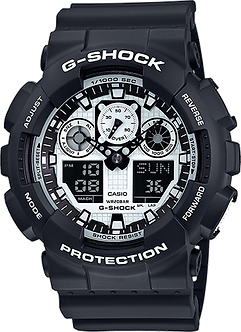 CASIO G SHOCK GA100BW-1A  ORIGINAL