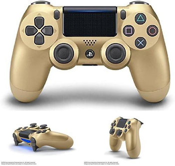 Official-Sony-PlayStation-4-PS4-Dualshock-4-Wireless-Controller-GOLD-Controller