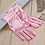 Thumbnail: 1PC Women Satin Short Finger Wrist Gloves Smooth Evening Party Formal Prom