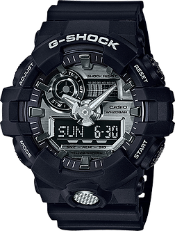 CASIO G SHOCK GA710-1A ORIGINAL