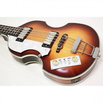 Greco VB-95L Lefty Left Hand Model Violin Bass Guitar Japan Vintage