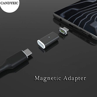CANDYEIC Mobile Phone Accessories Magnetic Adapter for Android Type C Micro USB