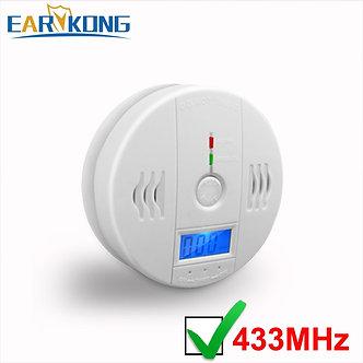 433MHz Wireless Carbon Monoxide Detector, Monoxide Gas Alarm Detectors