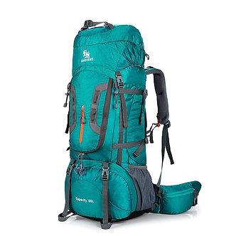 80L Camping Hiking Backpacks Big Outdoor Bag Backpack Nylon Superlight Sport T