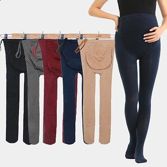 Autumn Spring 320D Pregnancy Clothes Adjustable High Elastic Maternity Leggings