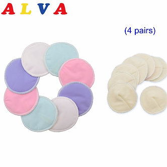 8pcs Per Lot Alvababy Super Soft Arc Bamboo Breast Pad  Nursing Pads for Mum