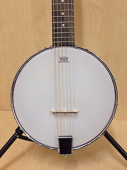 Caraya BJ-006 OB 6 string Guitar Banjo, Open Back +Free gig bag,Extra String Set