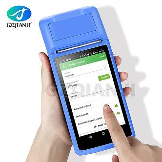 Android 6.0 PDA Handheld POS Terminal PDA eSIM 4G WiFi With Camera Speaker