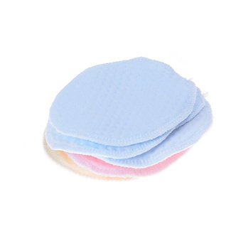 6Pcs Reusable Washable Soft Cotton Absorbent Mom Mother Baby Breast Feeding