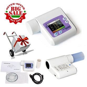 CE-SP10-Handheld-Digital-Spirometer-Lung-Volume-Pulmonary-Function-USB-Software