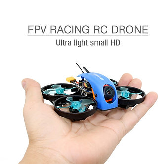 1PC SPCMAKER Mini Whale FPV Racing RC Drone Ultra Light Small 78MM 1080P HD