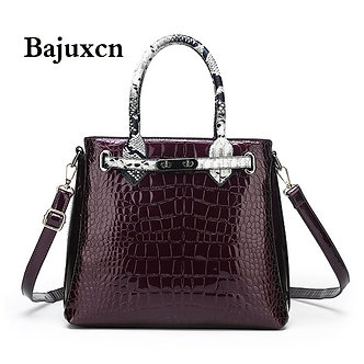2021 New Women's Bag Luxury High Quality Classic  Leather Handbags Brand