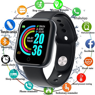 2020 Smart Watch Men Women Blood Pressure Smartwatch Watch Waterproof Heart Rate