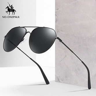 NO.ONEPAUL Brand Fashion Sunglasses Glasses Driving Fishing Eyewear Men Metal