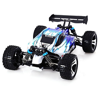 WLtoys A959 1/18 2.4G 4WD RC Car Truck Off-road Remote Control + 2 FREE WHEEL