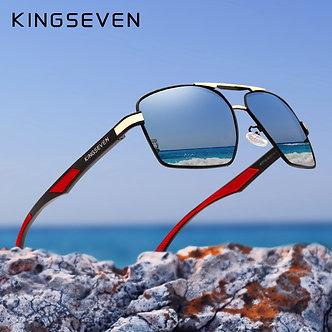 KINGSEVEN Aluminum Men's Sunglasses Polarized Lens Brand Design Temples Sun