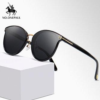 NO.ONEPAUL Polarized Square Metal Frame Male Sun Glasses Fishing Driving