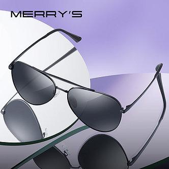 MERRYS DESIGN Men Classic Pilot Sunglasses HD Polarized Sun Glasses Driving