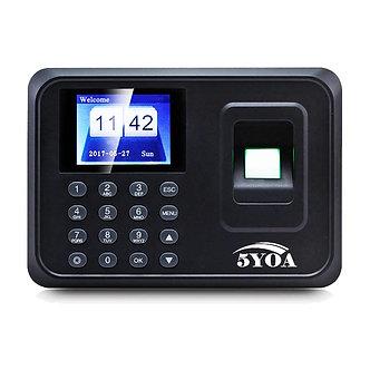 A01 Biometric Fingerprint Punch Usb Time Clock Office Attendance System