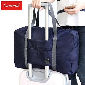2021 New Nylon Foldable Travel Bag Unisex Large Capacity Bag Luggage Women