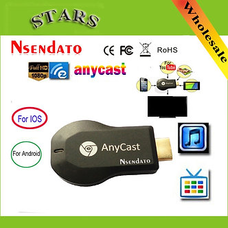 Anycast M2 Ezcast Miracast Any Cast Wireless for DLNA AirPlay Mirroring HD TV