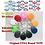 Thumbnail: 10pcs EM4305 Copy Rewritable Writable Rewrite EM ID Keyfobs RFID Tag Key Ring