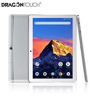 2019 New DragonTouch K10 10.1 Inc 16GB Quad Core Tablet With Android 8.1,