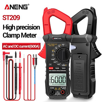 ANENG ST209 Digital Multimeter Clamp Meter 6000 Counts True RMS Amp