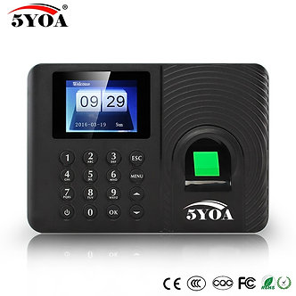 A10 Biometric Fingerprint Time Attendance System Clock Recorder Employee