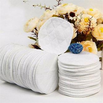 10Pcs Reusable Nursing Breast Pads Washable Soft Absorbent Feeding Breastfeeding