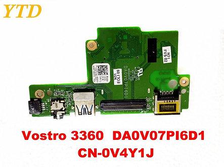 Original for DELL Vostro 3360   USB  Board Audio Board  Vostro 3360  DA0V07PI6D1
