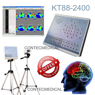 CONTEC KT88 Digital 24-Channel EKG/EEG Machine Mapping System,Brain Electric+SW