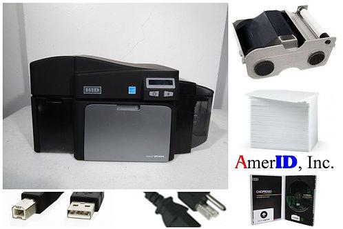 Fargo DTC4000 ID Card Dye Sublimation Printer