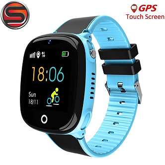 4G Anti Lost Kids GPS Watch Tracker Security SOS Smart Monitoring Positioning