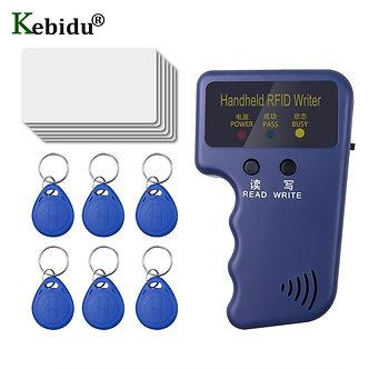 125Mhz EM4100 RFID Duplicator Handheld Copier ID Writer Programmer Reader