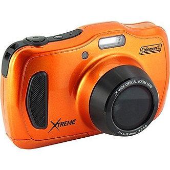NEW Coleman 20.0 Mega Pixels Waterproof HD Digital Camera with 4x Optical Zoom