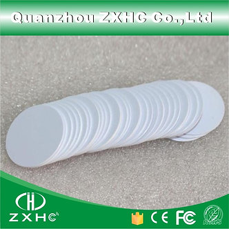 (10pcs/Lot) RFID 125KHz 25mm T5577 Rewritable Coin Cards Tag for Copy Round