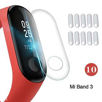 10PCS for Xiaomi Mi Band 2/3/4 Screen Protector TPU Full Cover Bracelet Film