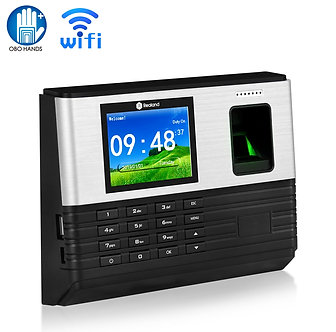 2.8inch WiFi TCP/IP RFID Biometric Fingerprint Time Attendance System Machine