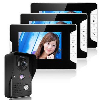"2016 Brand New 7"" LCD Monitor Video Door Phone Doorbell Intercom System Home"