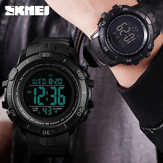 2019 New SKMEI Mens Sports Watches Fashion Outdoor Waterproof Digital Watch Men