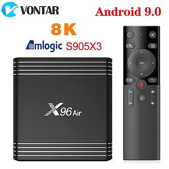 2020 VONTAR X96 Air TV BOX Android 9 9.0 Amlogic S905X3 Mini 4GB 64GB 32GB Wifi