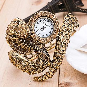 2019 New Style Snake Shaped Watch Fashion Watch Bracelet Watch Unique Design