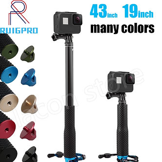 43in Aluminum Diving Monopod for GoPro Hero 6 5 7 8 9 Black Tripod Session Sjcam
