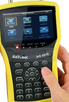 SATLINK WS-6936 DVB-S & DVB-T Combo Meter with Spectrum!! Satlink 6936